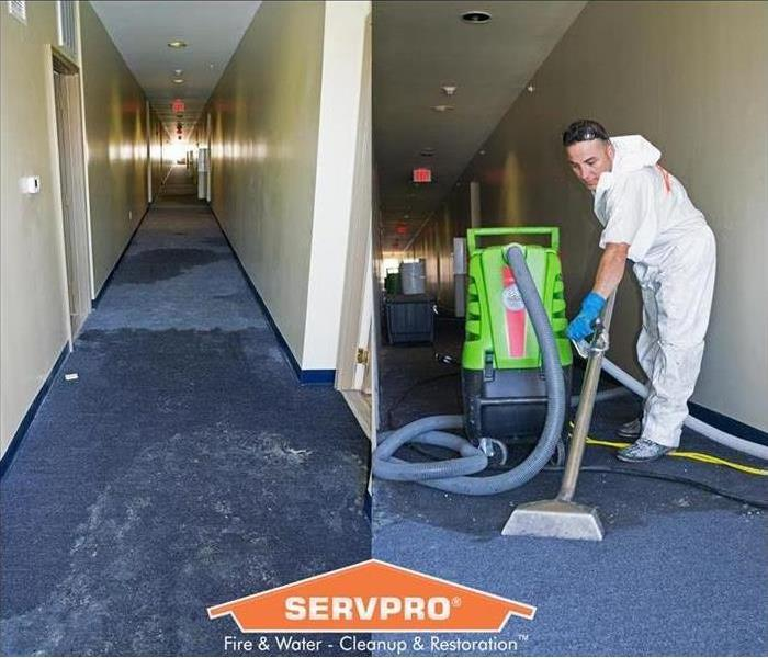 SERVPRO of North Arlington's Water Damage Restoration Process